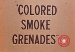 Image of colored smoke grenades United States USA, 1945, second 20 stock footage video 65675042930