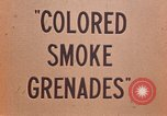 Image of colored smoke grenades United States USA, 1945, second 21 stock footage video 65675042930