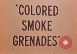 Image of colored smoke grenades United States USA, 1945, second 23 stock footage video 65675042930