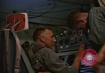 Image of Crew member inside an Air Rescue HC-130H  Southeast Asia, 1966, second 28 stock footage video 65675042965