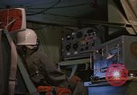 Image of Crew member inside an Air Rescue HC-130H  Southeast Asia, 1966, second 29 stock footage video 65675042965