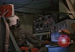 Image of Crew member inside an Air Rescue HC-130H  Southeast Asia, 1966, second 39 stock footage video 65675042965