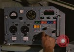 Image of Crew member inside an Air Rescue HC-130H  Southeast Asia, 1966, second 54 stock footage video 65675042965