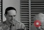 Image of Fleet Admiral Chester W Nimitz Pacific Theater, 1944, second 39 stock footage video 65675042984