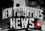 Image of President Jose Laurel Philippines, 1944, second 14 stock footage video 65675043001