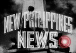 Image of President Jose Laurel Philippines, 1944, second 17 stock footage video 65675043001