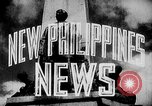 Image of President Jose Laurel Philippines, 1944, second 19 stock footage video 65675043001