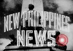 Image of President Jose Laurel Philippines, 1944, second 20 stock footage video 65675043001
