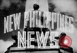 Image of President Jose Laurel Philippines, 1944, second 22 stock footage video 65675043001