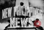 Image of President Jose Laurel Philippines, 1944, second 23 stock footage video 65675043001