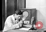 Image of Japanese Station announcer Tokyo Japan, 1945, second 1 stock footage video 65675043008