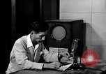 Image of Japanese Station announcer Tokyo Japan, 1945, second 9 stock footage video 65675043008