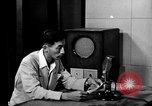 Image of Japanese Station announcer Tokyo Japan, 1945, second 13 stock footage video 65675043008