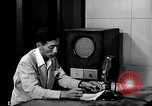 Image of Japanese Station announcer Tokyo Japan, 1945, second 20 stock footage video 65675043008