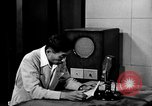 Image of Japanese Station announcer Tokyo Japan, 1945, second 21 stock footage video 65675043008