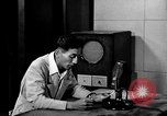 Image of Japanese Station announcer Tokyo Japan, 1945, second 28 stock footage video 65675043008