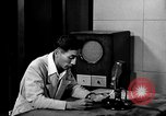 Image of Japanese Station announcer Tokyo Japan, 1945, second 46 stock footage video 65675043008