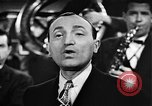Image of Singer Al Trace in war bond drive United States USA, 1943, second 22 stock footage video 65675043013