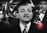 Image of Singer Al Trace in war bond drive United States USA, 1943, second 24 stock footage video 65675043013