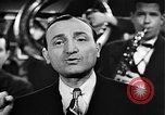 Image of Singer Al Trace in war bond drive United States USA, 1943, second 25 stock footage video 65675043013