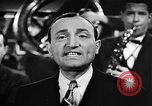 Image of Singer Al Trace in war bond drive United States USA, 1943, second 26 stock footage video 65675043013