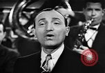 Image of Singer Al Trace in war bond drive United States USA, 1943, second 30 stock footage video 65675043013