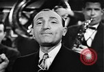 Image of Singer Al Trace in war bond drive United States USA, 1943, second 31 stock footage video 65675043013