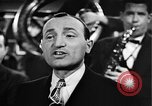 Image of Singer Al Trace in war bond drive United States USA, 1943, second 34 stock footage video 65675043013
