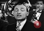 Image of Singer Al Trace in war bond drive United States USA, 1943, second 35 stock footage video 65675043013