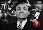 Image of Singer Al Trace in war bond drive United States USA, 1943, second 36 stock footage video 65675043013