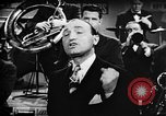 Image of Singer Al Trace in war bond drive United States USA, 1943, second 39 stock footage video 65675043013
