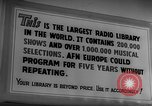 Image of Armed Forces Network Frankfurt Germany, 1962, second 18 stock footage video 65675043026