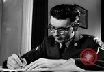 Image of Armed Forces Network radio show behind the scenes Europe, 1962, second 14 stock footage video 65675043028