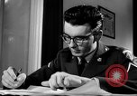 Image of Armed Forces Network radio show behind the scenes Europe, 1962, second 15 stock footage video 65675043028