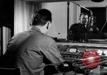 Image of Armed Forces Network radio show behind the scenes Europe, 1962, second 44 stock footage video 65675043028