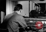 Image of Armed Forces Network radio show behind the scenes Europe, 1962, second 48 stock footage video 65675043028