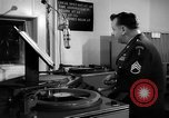 Image of Armed Forces Network radio show behind the scenes Europe, 1962, second 62 stock footage video 65675043028