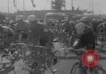 Image of Eddie Merckx wins World Bicycle Championship Holland Netherlands, 1967, second 10 stock footage video 65675043043