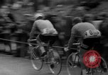 Image of Eddie Merckx wins World Bicycle Championship Holland Netherlands, 1967, second 29 stock footage video 65675043043