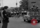 Image of Eddie Merckx wins World Bicycle Championship Holland Netherlands, 1967, second 32 stock footage video 65675043043