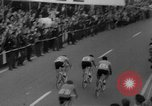 Image of Eddie Merckx wins World Bicycle Championship Holland Netherlands, 1967, second 45 stock footage video 65675043043