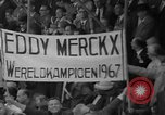 Image of Eddie Merckx wins World Bicycle Championship Holland Netherlands, 1967, second 46 stock footage video 65675043043