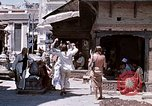 Image of Group of Hippies in Neapl Kathmandu Nepal, 1969, second 38 stock footage video 65675043060