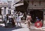 Image of Group of Hippies in Neapl Kathmandu Nepal, 1969, second 39 stock footage video 65675043060