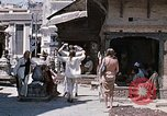 Image of Group of Hippies in Neapl Kathmandu Nepal, 1969, second 41 stock footage video 65675043060