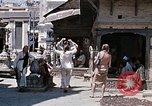 Image of Group of Hippies in Neapl Kathmandu Nepal, 1969, second 42 stock footage video 65675043060