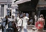 Image of Group of Hippies in Neapl Kathmandu Nepal, 1969, second 45 stock footage video 65675043060