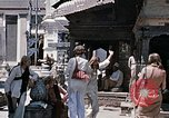 Image of Group of Hippies in Neapl Kathmandu Nepal, 1969, second 46 stock footage video 65675043060