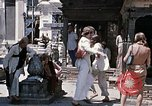 Image of Group of Hippies in Neapl Kathmandu Nepal, 1969, second 48 stock footage video 65675043060