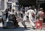 Image of Group of Hippies in Neapl Kathmandu Nepal, 1969, second 49 stock footage video 65675043060